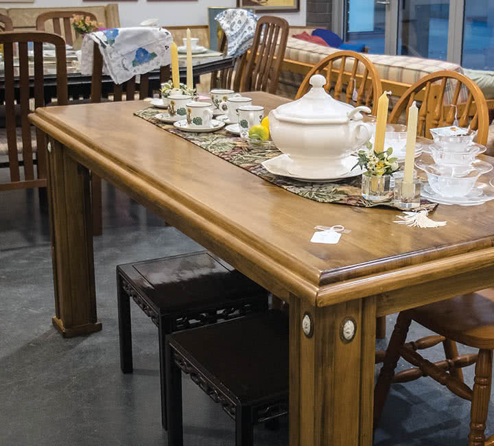 The Hospice Shop: Furniture